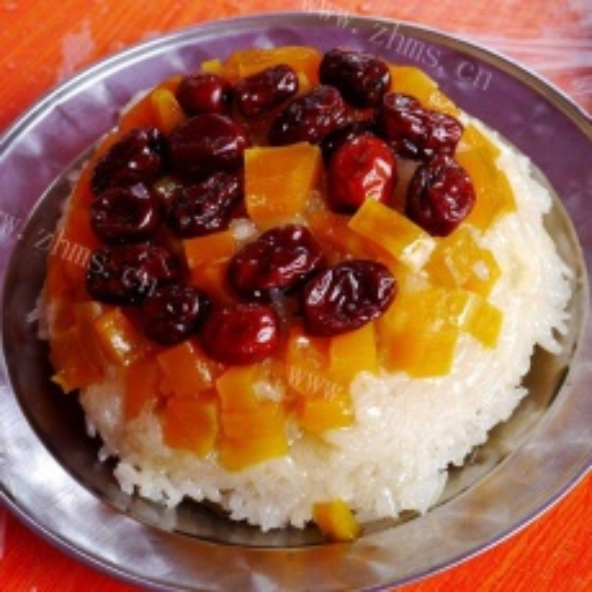 红枣糯米饭