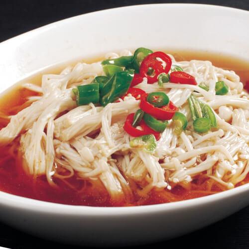创意金针菇汤