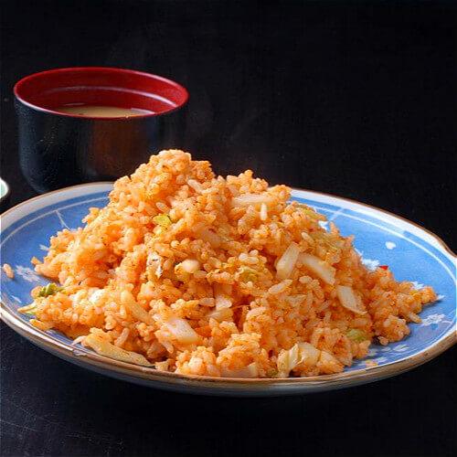什锦泡菜炒饭