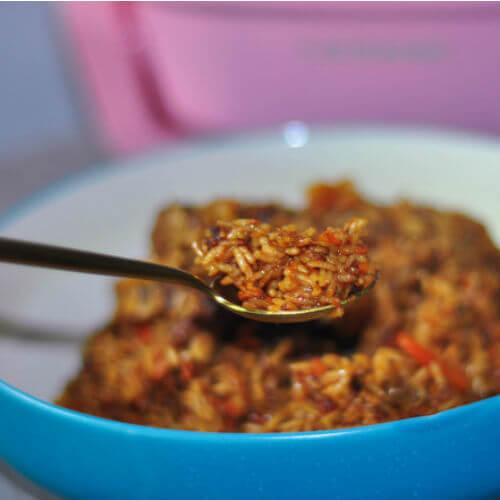 胡萝卜羊肉烩饭