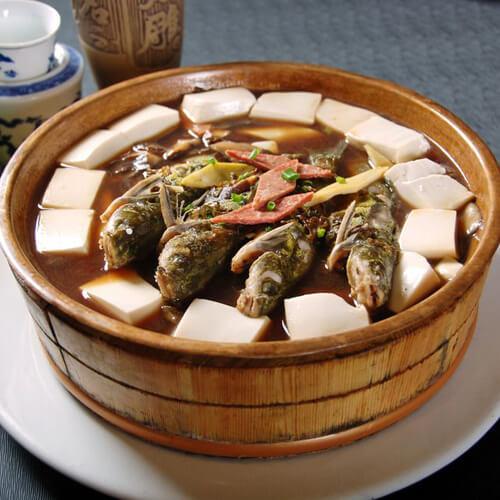嘎鱼炖豆腐