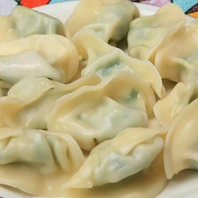 鲜香茴香苗馅饺子