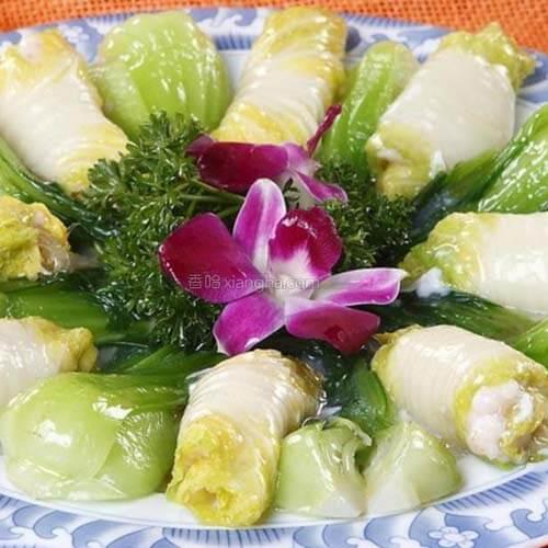 鱼香白菜卷