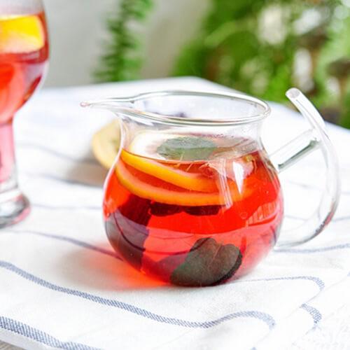 玫瑰柠檬茶