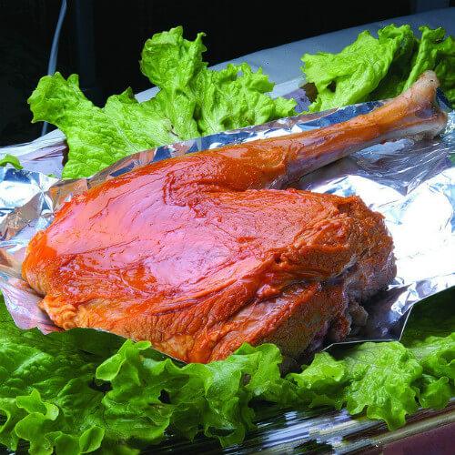 泰式绿咖喱烤羊腿