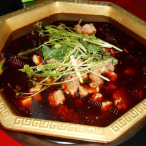 好吃的排骨火锅