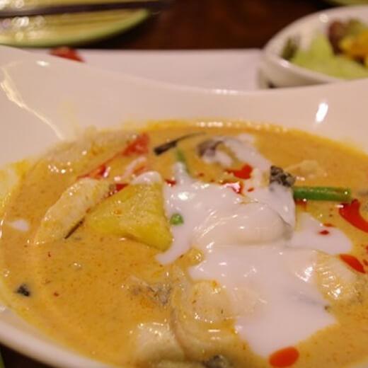 咖喱酸酱汁拌三蔬