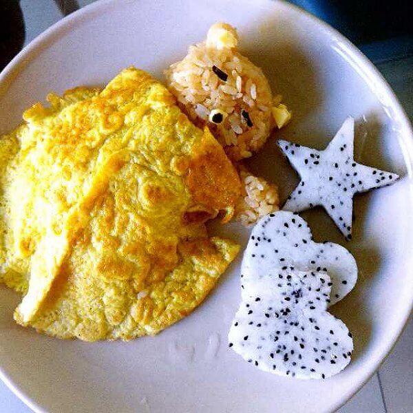 创新的开学创意早餐