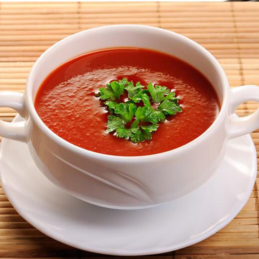 家常绿茶番茄汤