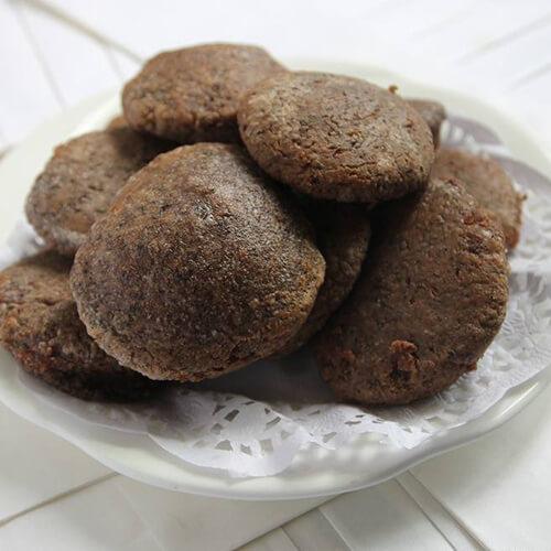 黑芝麻黑豆豆浆豆渣饼