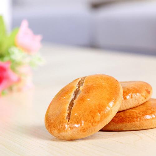红豆花生玫瑰酥饼