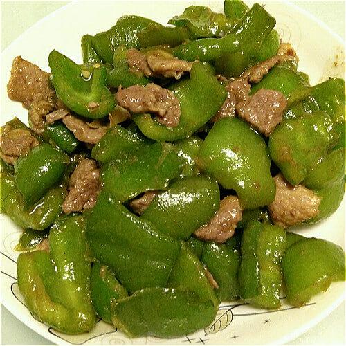 美味大辣椒炒肉