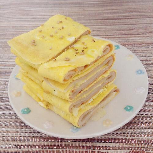家常火腿洋葱早餐饼