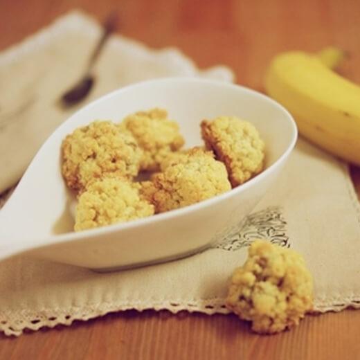 香蕉椰丝饼