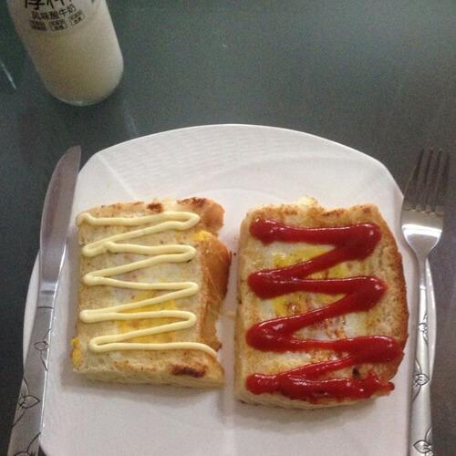 美味的面包机版番茄吐司