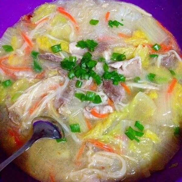 豆皮粉丝羊肉汤