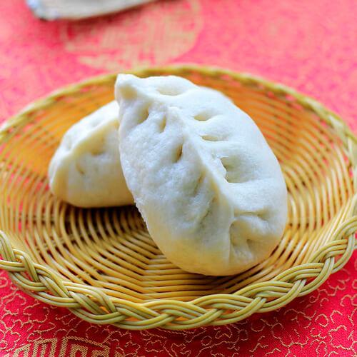 面食柳叶蒸包