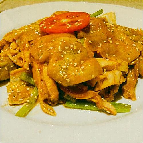 香炒台湾麻油鸡