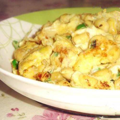 鸡蛋腌黄豆