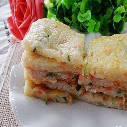 简单营养早餐蔬菜饼
