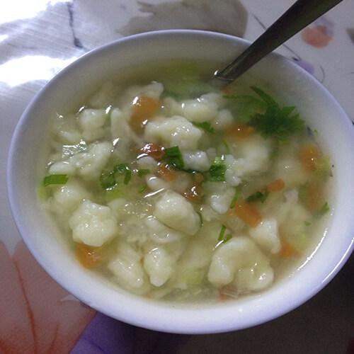 咸鸭蛋珍珠汤