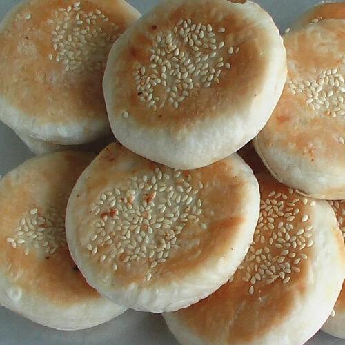 香酥板栗饼
