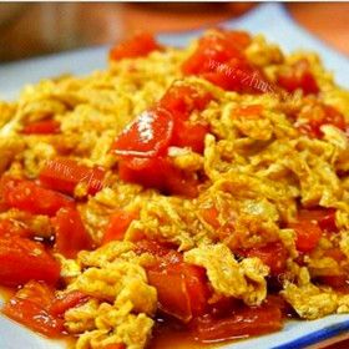 西红柿肉沫炒鸡蛋