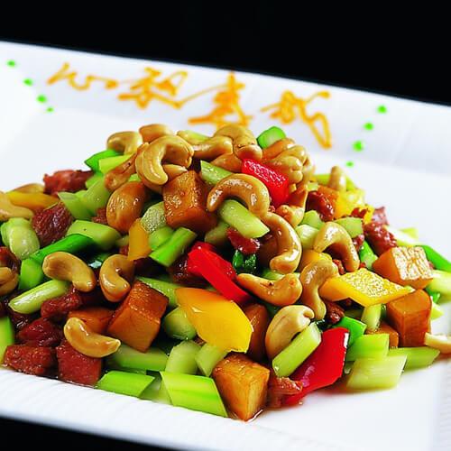 芦笋拌腰果