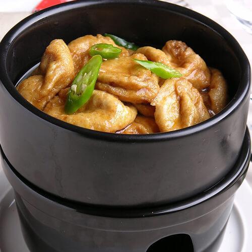 泡菜海鲜豆腐煲