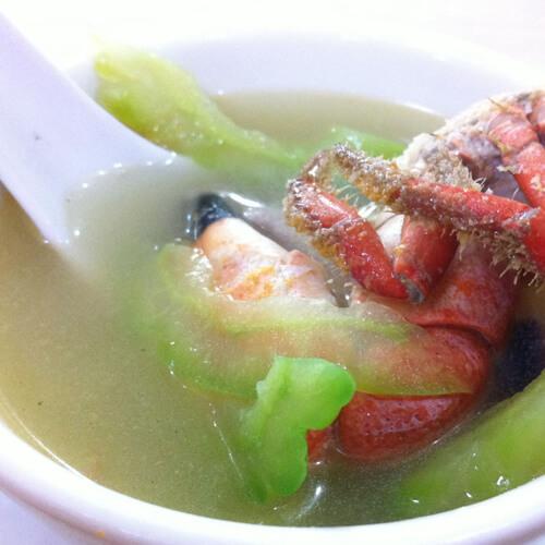 美味苦瓜汤