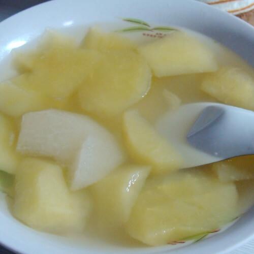 清热的雪梨汤