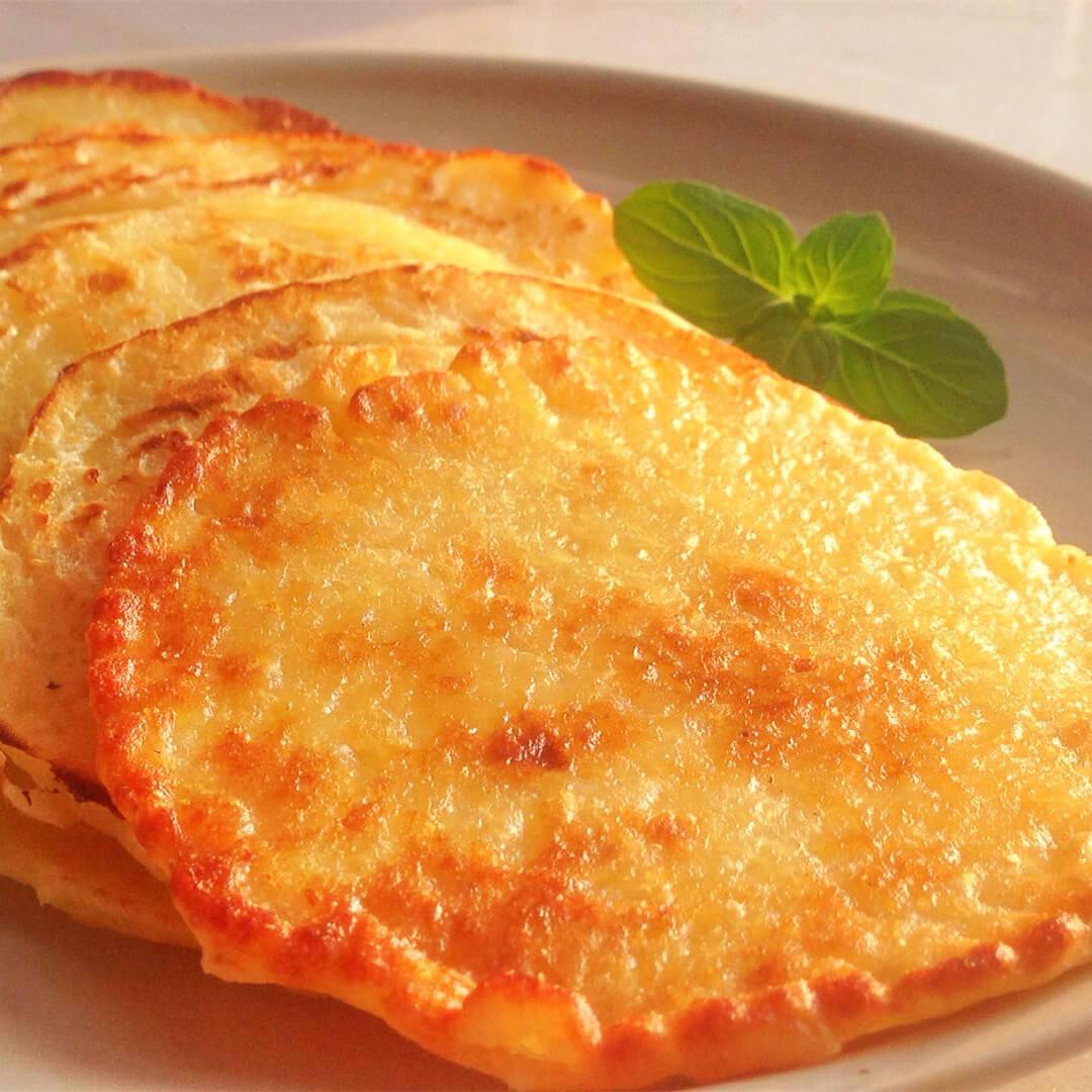 美味的奶香红薯片