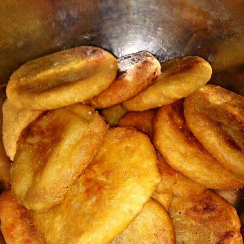 家常美食红薯粑粑