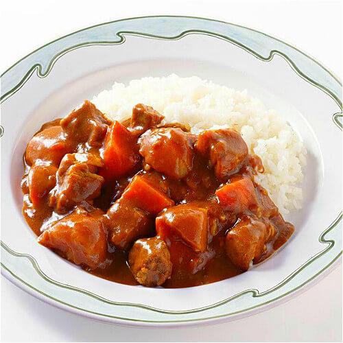卤味牛肉咖喱饭