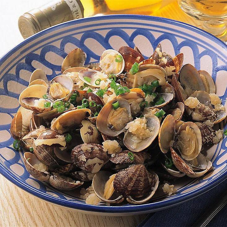 香菇蒸蚬肉