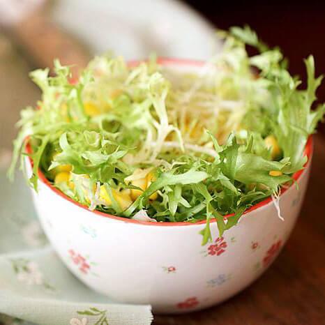 苦苣玉米沙拉