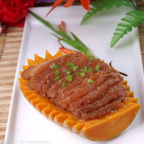 香糯蒸米粉肉