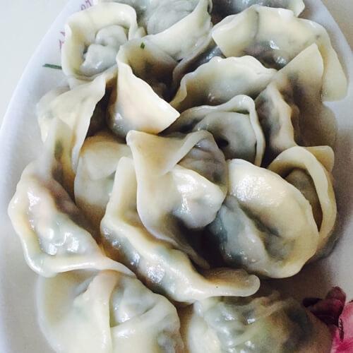 清淡的香菜饺子