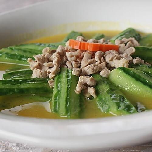 老黄瓜鸡汤