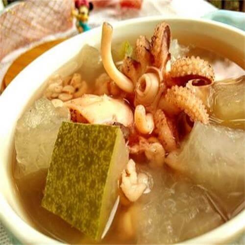 冬瓜薏米墨鱼汤