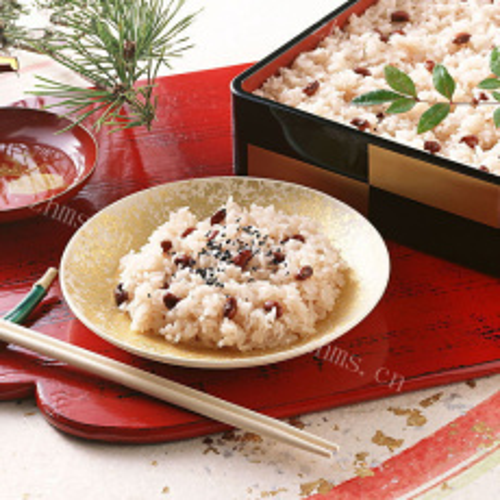 美味的杂粮豆浆米饭