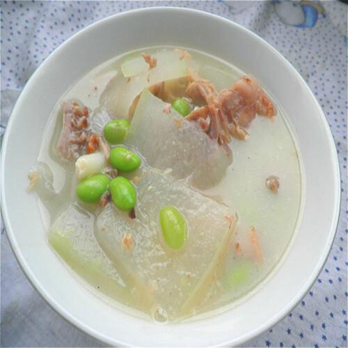 美味红皮鸭子冬瓜汤