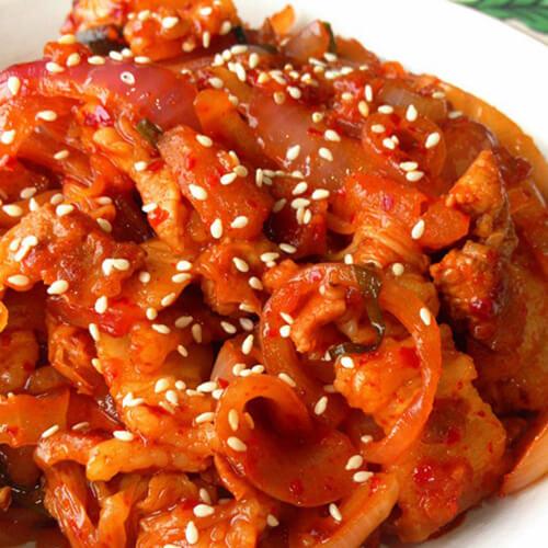 泡菜洋葱红萝卜