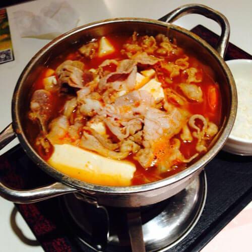猪肉泡菜锅