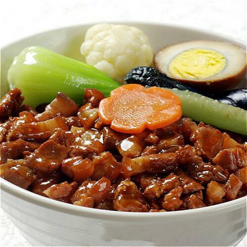 好吃又美味的台湾卤肉饭
