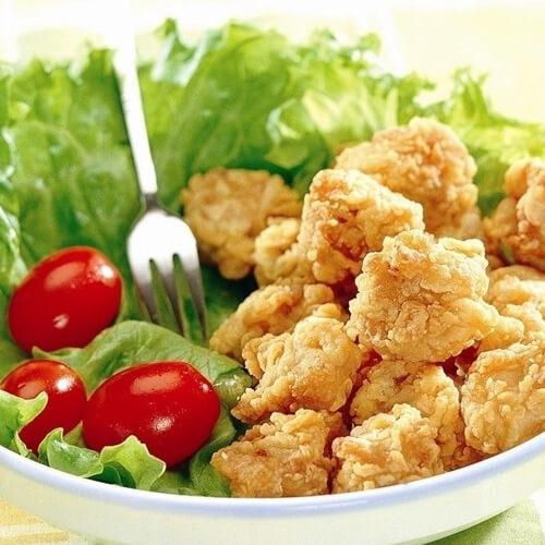 美味营养的鸡米花