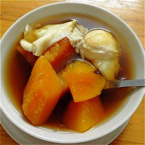 双薯鸡蛋甜汤