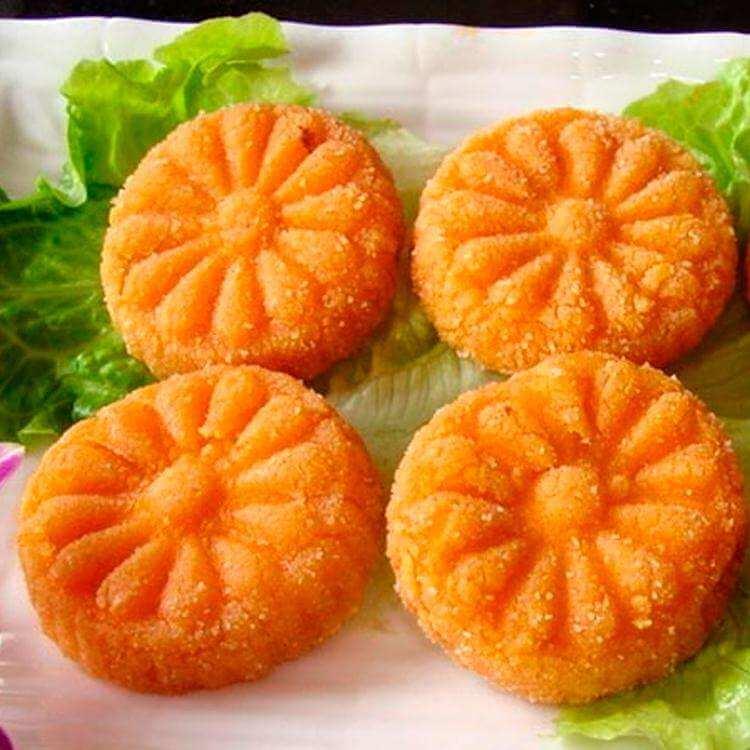 好吃的韩国南瓜饼