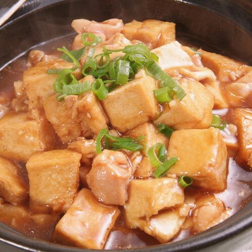 自制海鲜豆腐煲