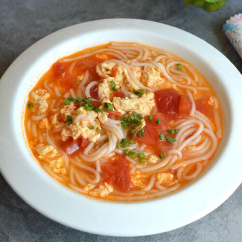 西红柿鸡蛋土豆粉